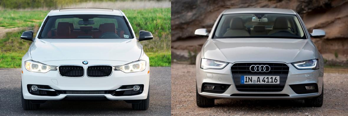 Fresh Faces BMW I Vs Audi A Limited Slip Blog - Bmw 328i vs audi a4