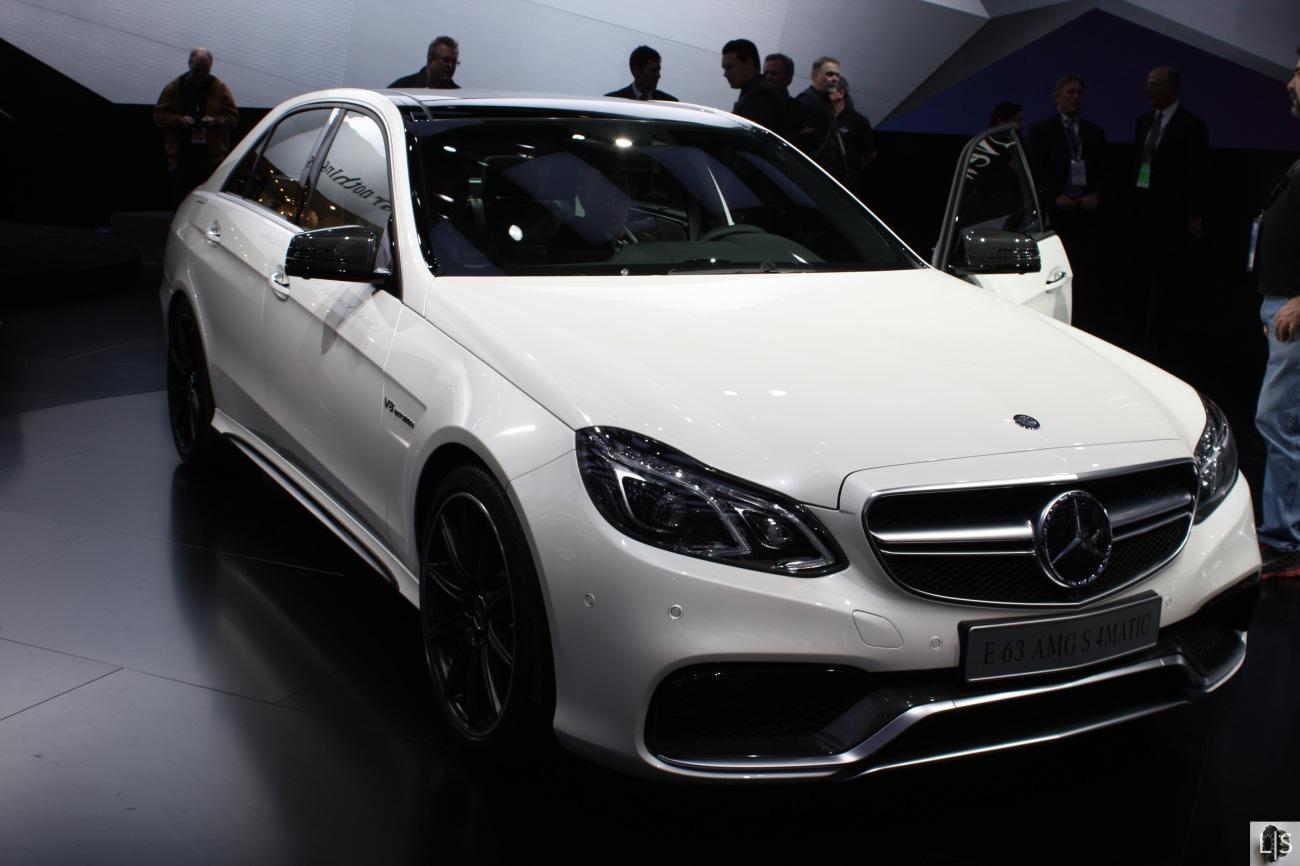 Mercedes E63 AMG 2