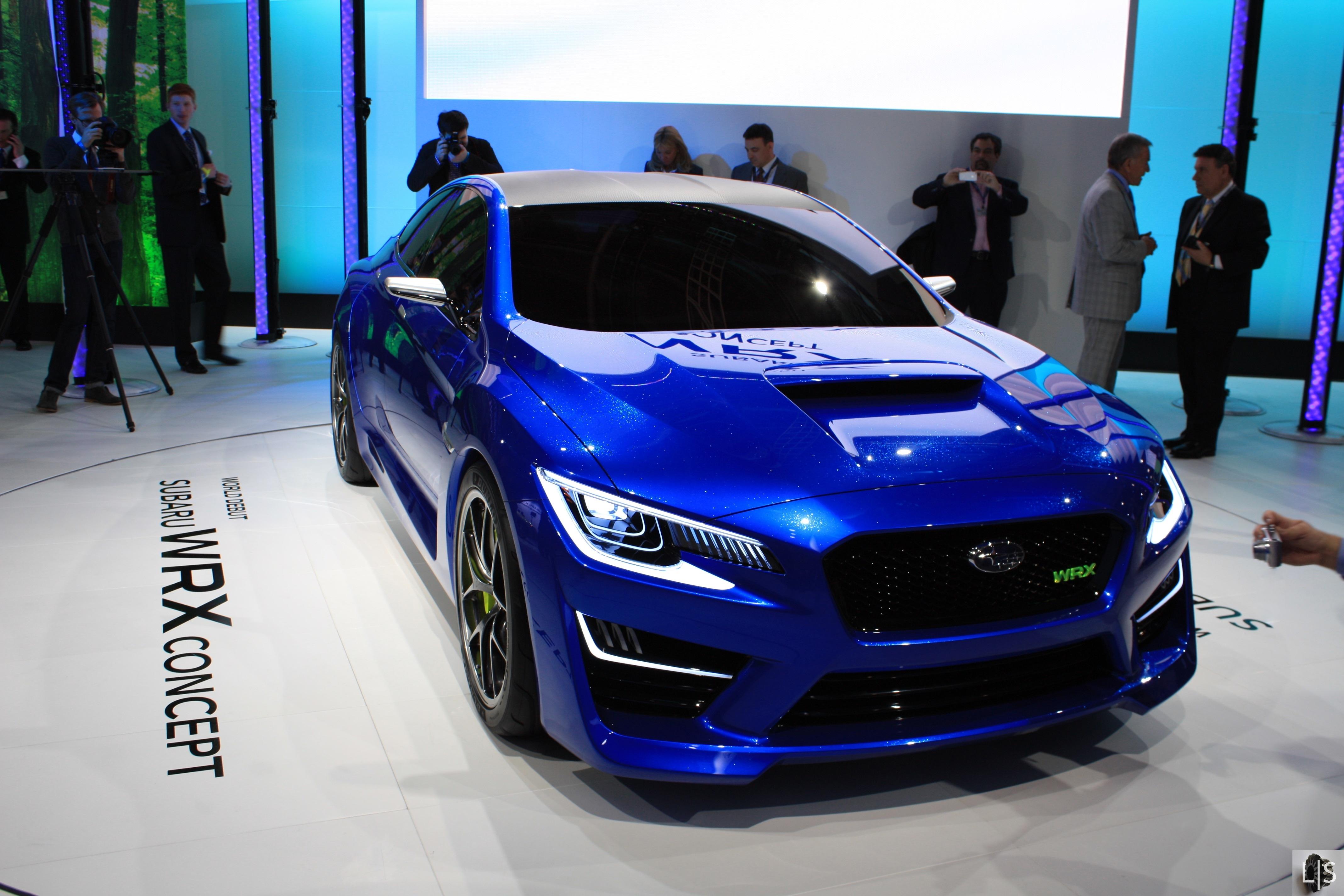 Subaru WRX Concept 1  Limited Slip Blog