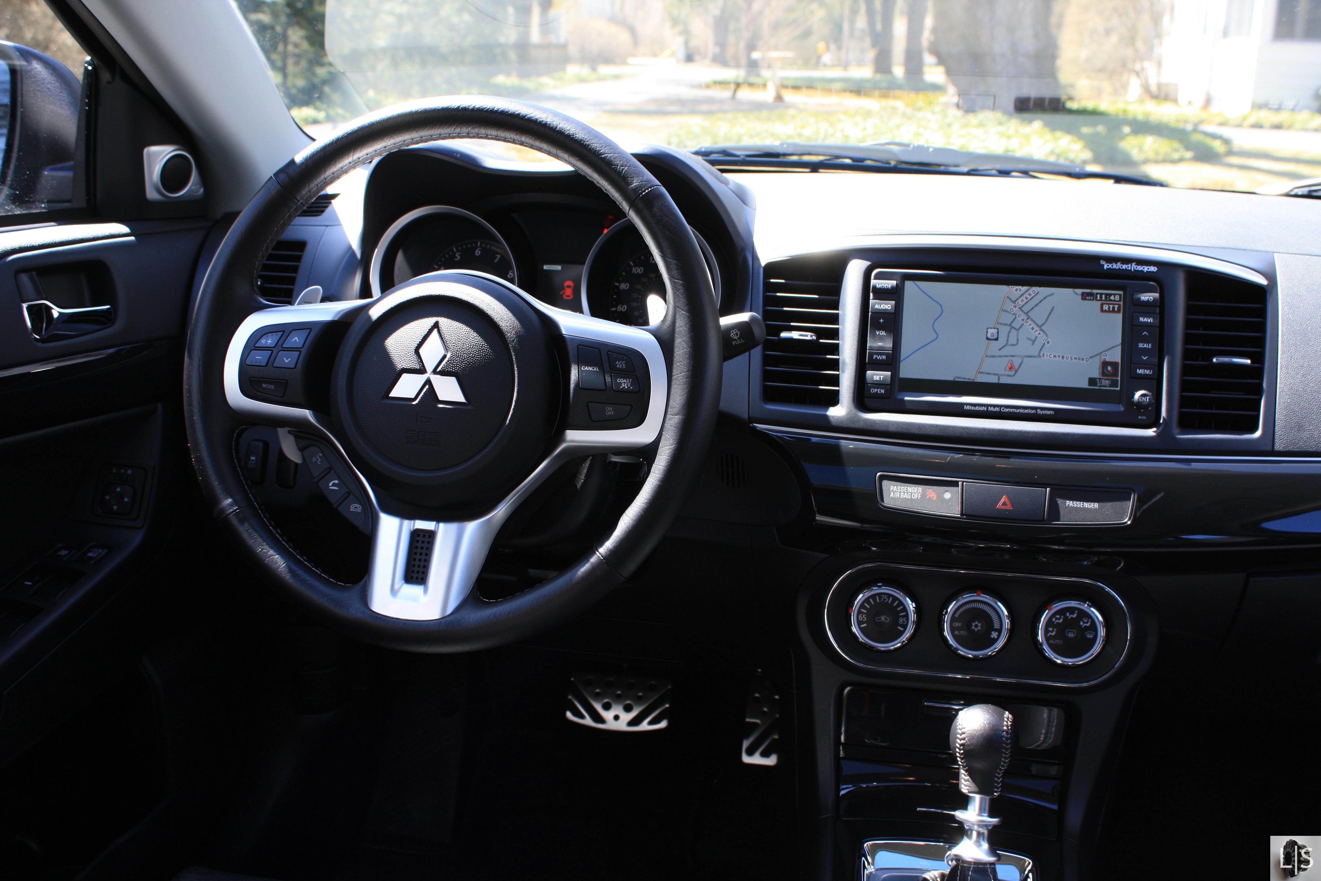 4272 2848 in 2013 mitsubishi lancer evolution mr - Mitsubishi Evo Interior 2013