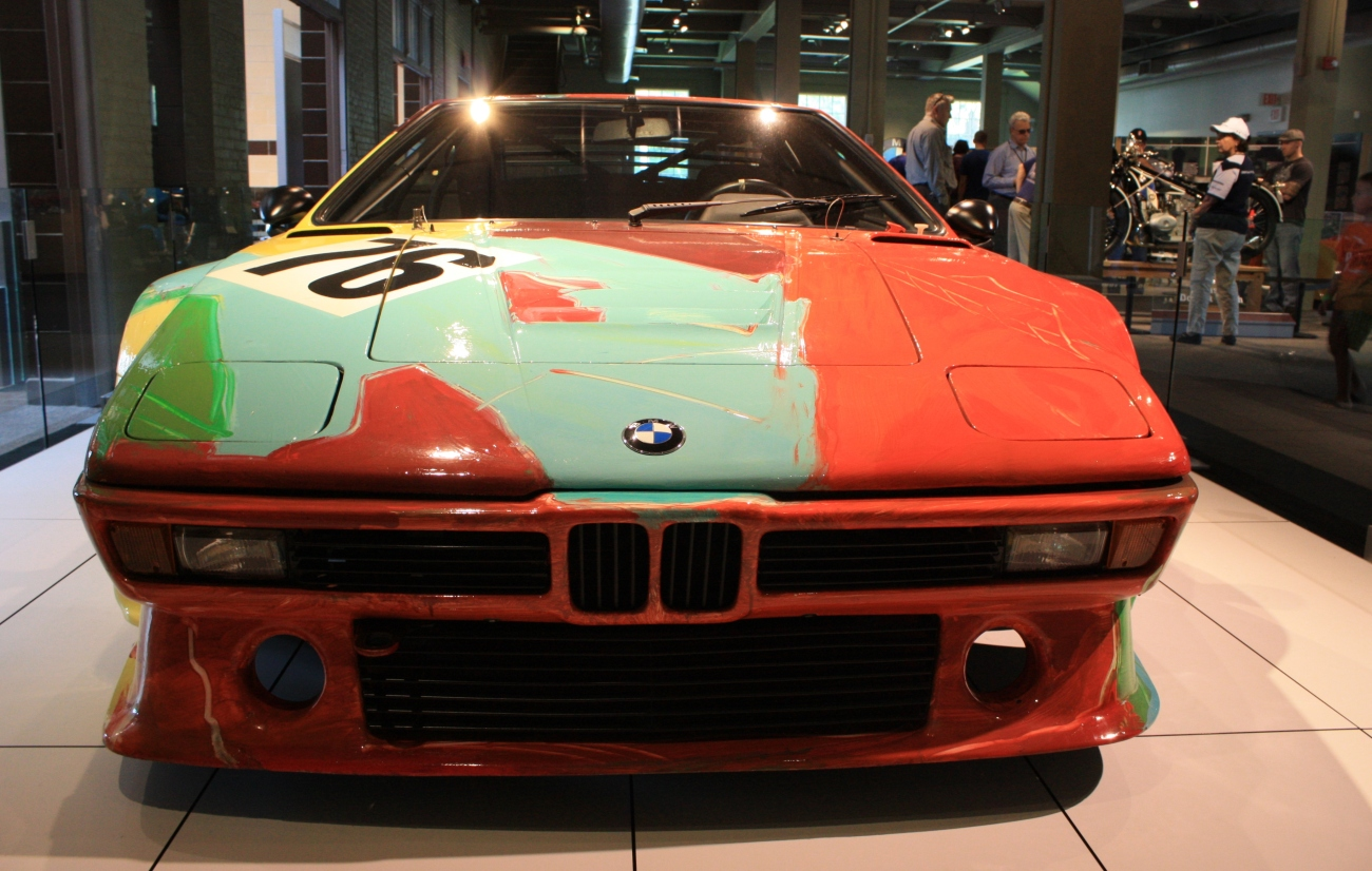 BMW M1 Art Car 1