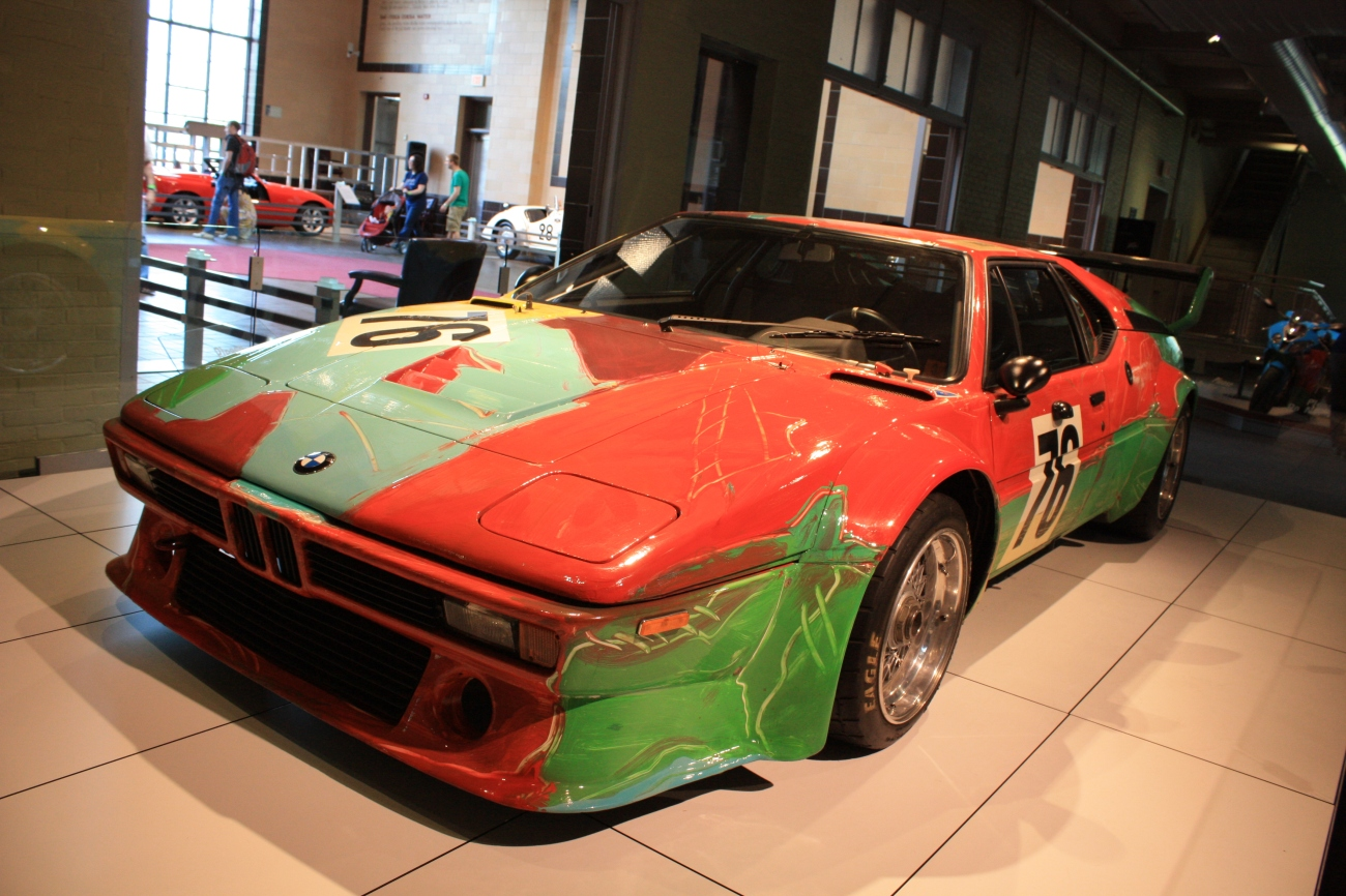 BMW M1 Art Car 2