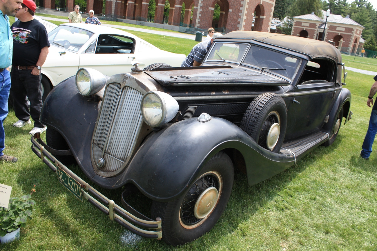 1937 Horch 853 Cabriolet A