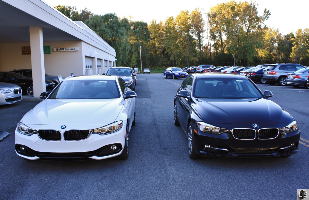 BMW 4 Series vs 3 Series 1
