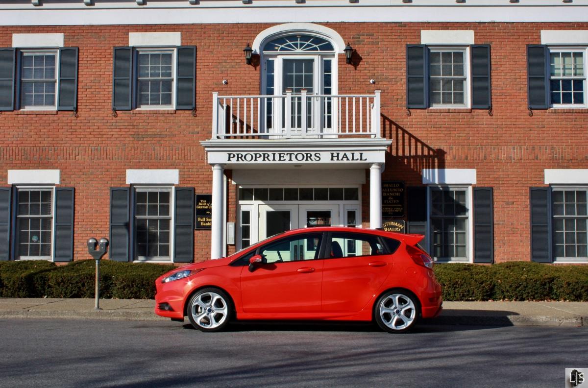Fiesta on Fire: 2014 Ford Fiesta ST