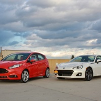 Opposites Attract: Ford Fiesta ST vs. Subaru BRZ