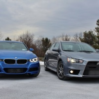 Jekyll & Hyde: BMW 335i xDrive vs. Mitsubishi Evo MR