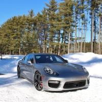 Winterized: Porsche Panamera Turbo