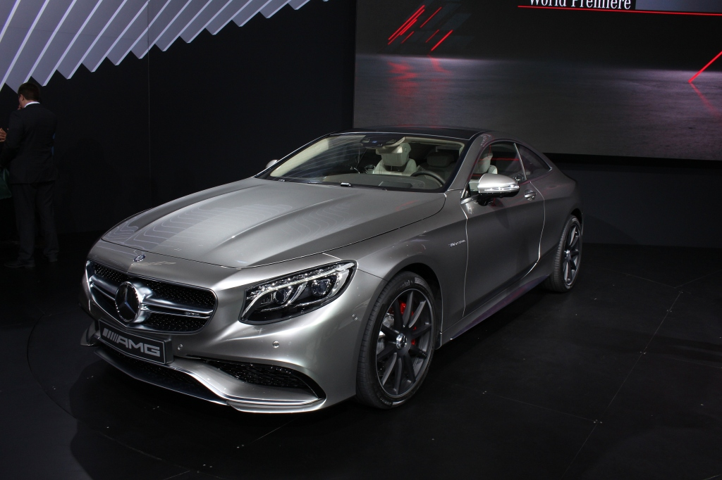 Mercedes S Class AMG Coupe 1