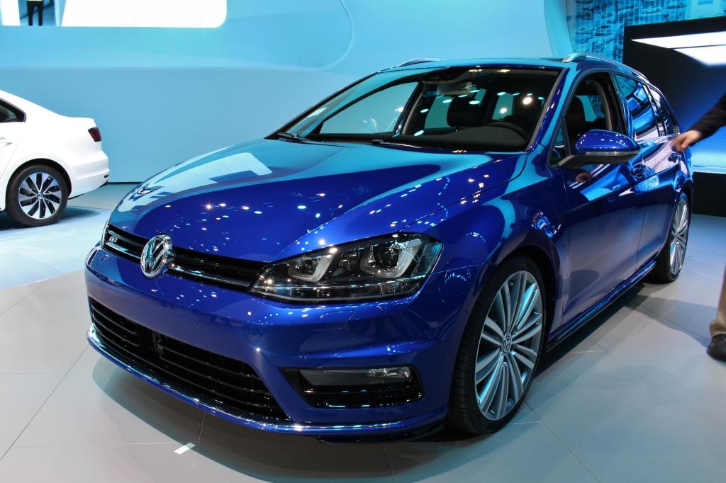 VW Golf Sportwagon 1