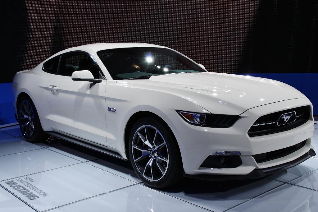 Wimbleton White Mustang