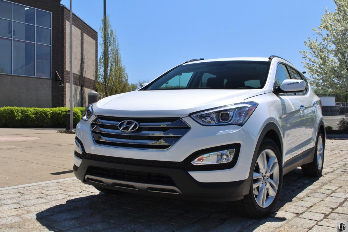 Progression:  2014 Hyundai Santa Fe Sport