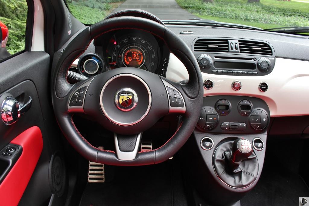 Fiat 500 Abarth Cabrio 9