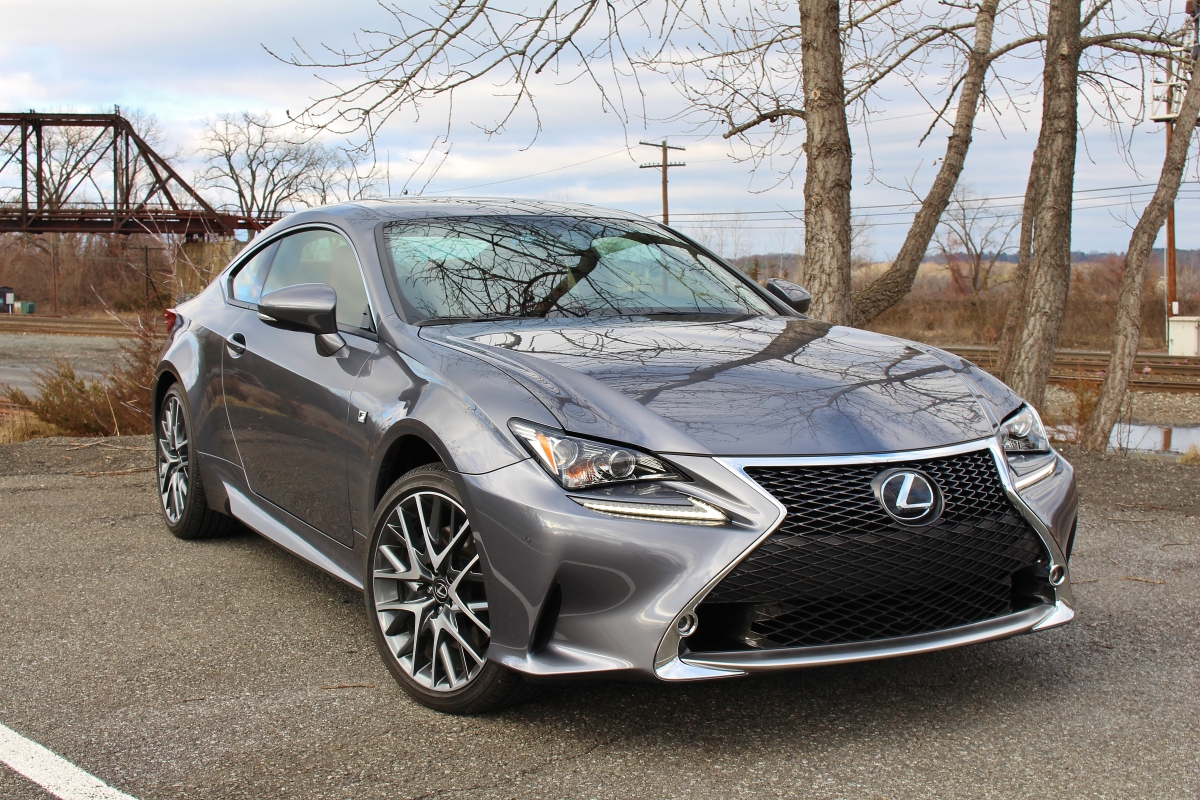 Less Is More: 2015 Lexus RC350 F Sport