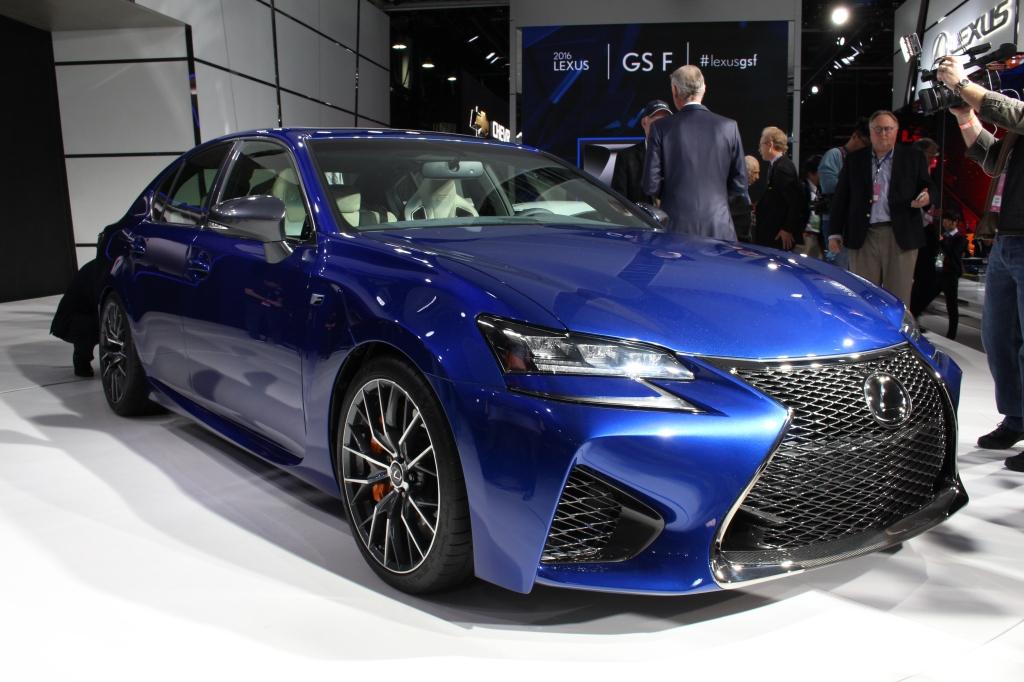 Lexus GSF 1