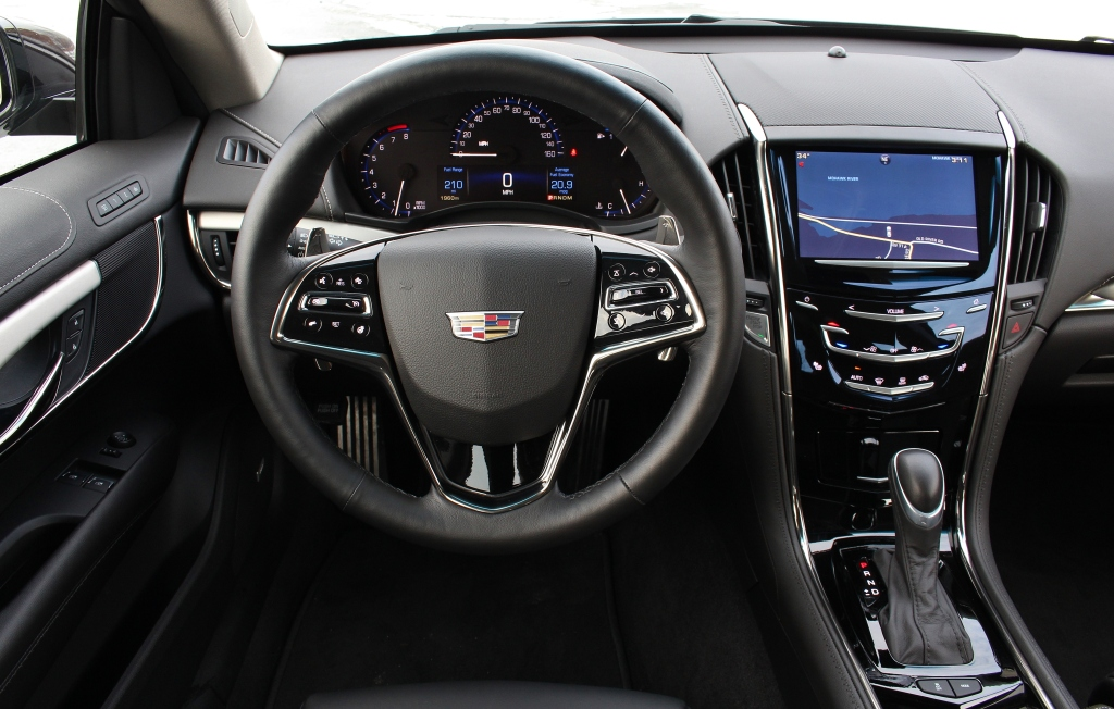 Cadillac ATS Coupe 10