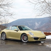 Happy Anniversary: 2014 Porsche 911 Targa 4S