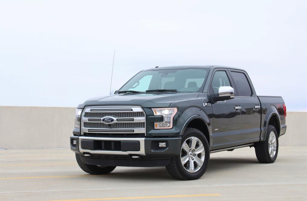 2015 Ford F150 Platinum 1