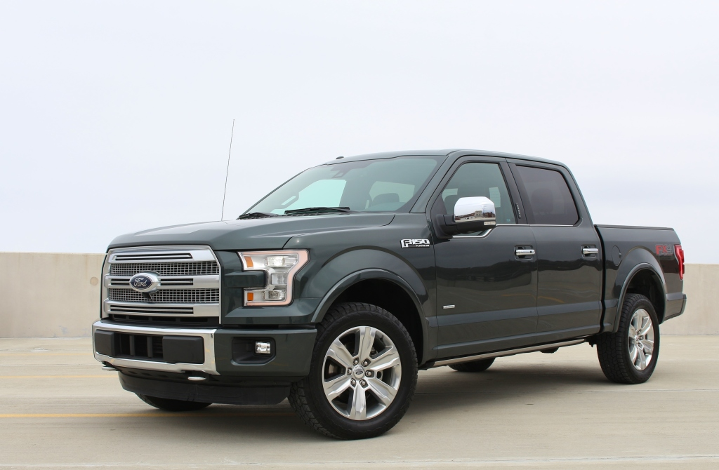 2015 Ford F150 Platinum 4