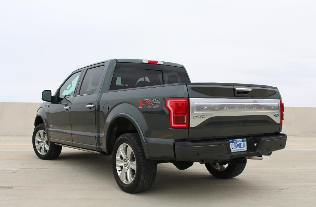 2015 Ford F150 Platinum 6