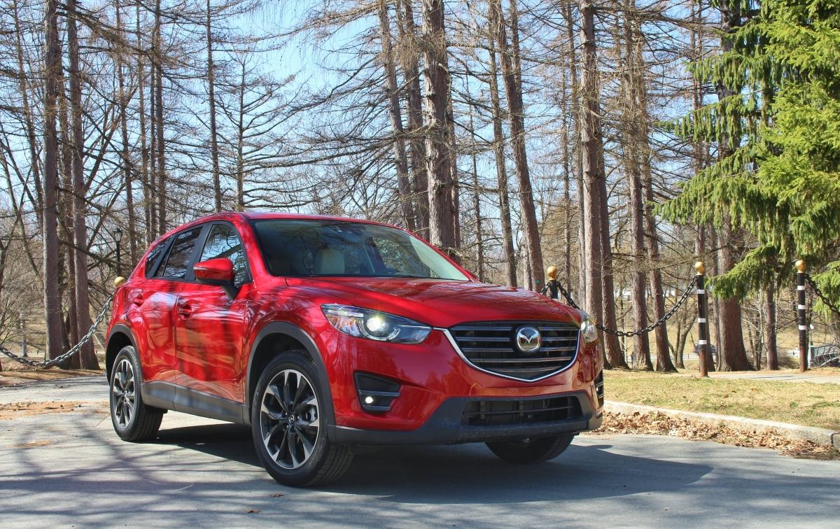 Spunk: 2016 Mazda CX-5