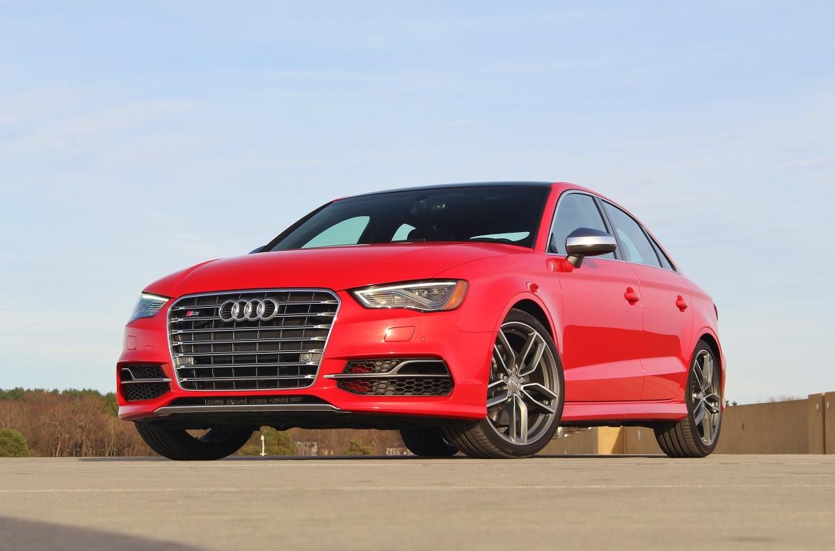Spicy: 2015 Audi S3