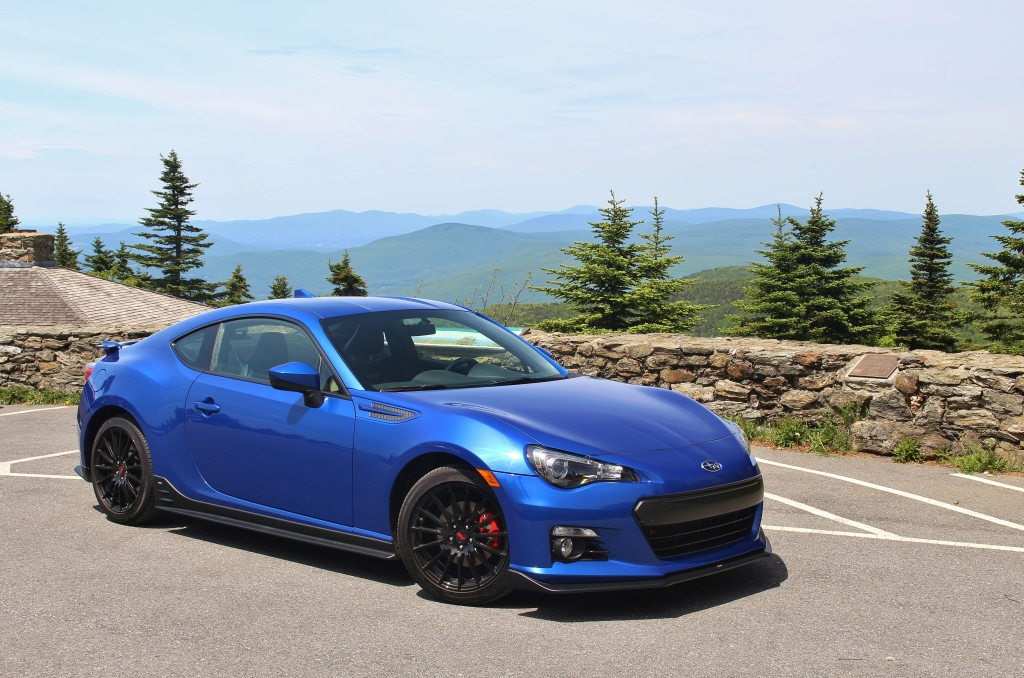 Subaru BRZ Series.Blue 1