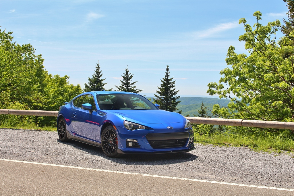 Subaru BRZ Series.Blue 3