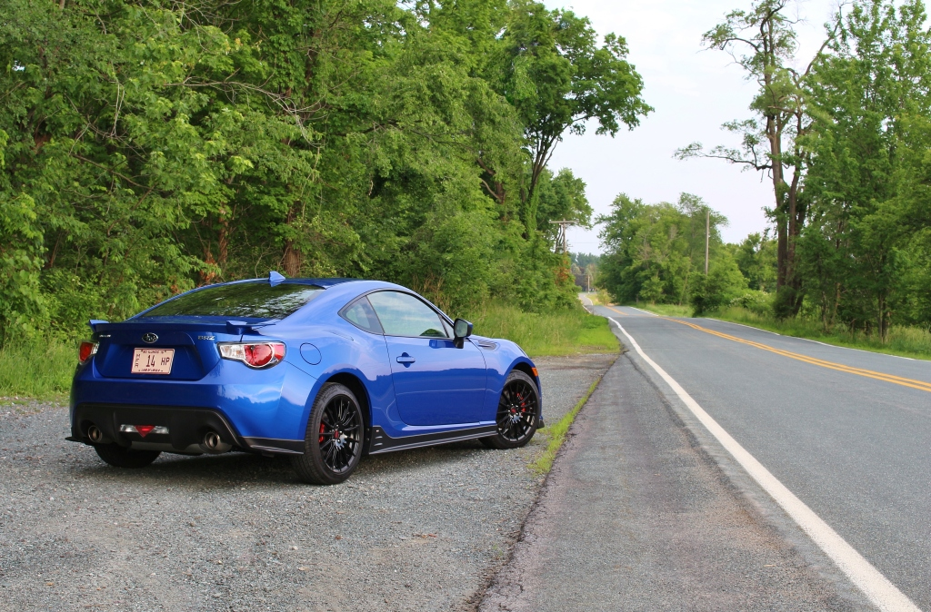 Subaru BRZ Series.Blue 4