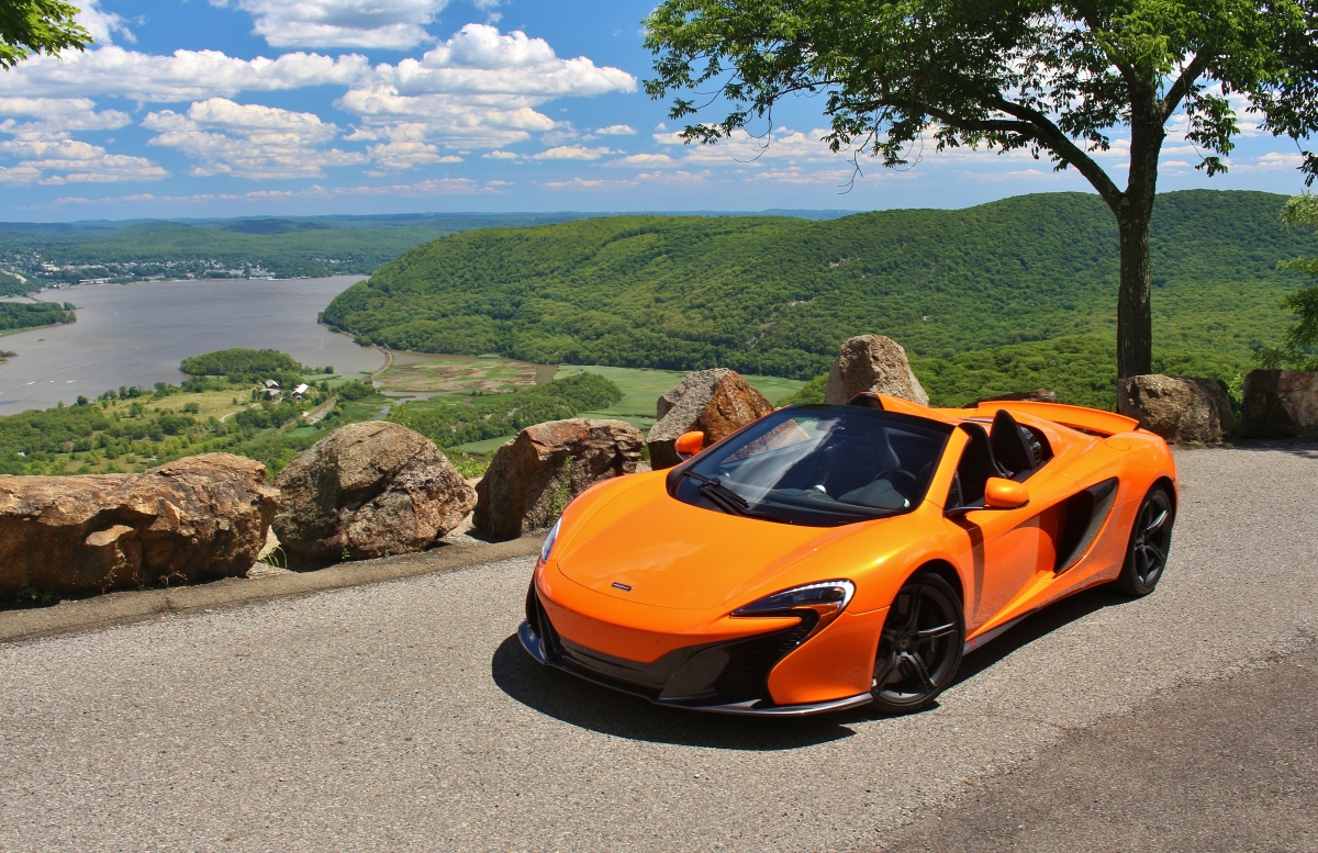 One Day: McLaren 650S Spider