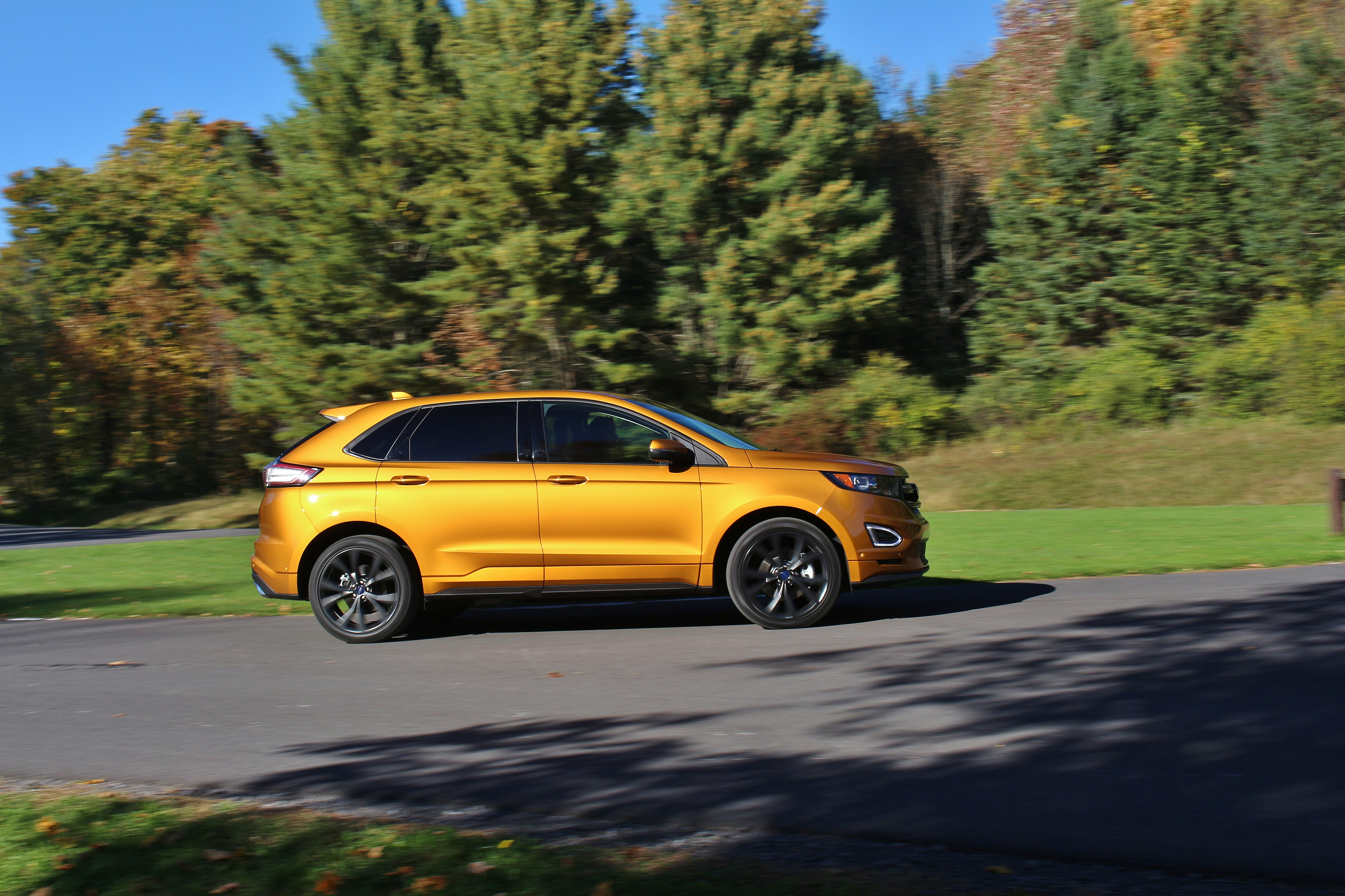 In Spiced  Ford Edge Sport