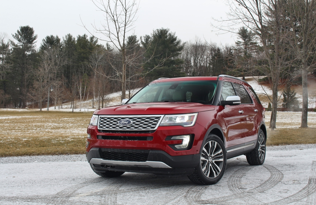 2016 Ford Explorer Platinum 1