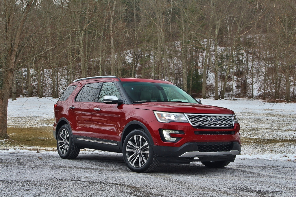 2016 Ford Explorer Platinum 4