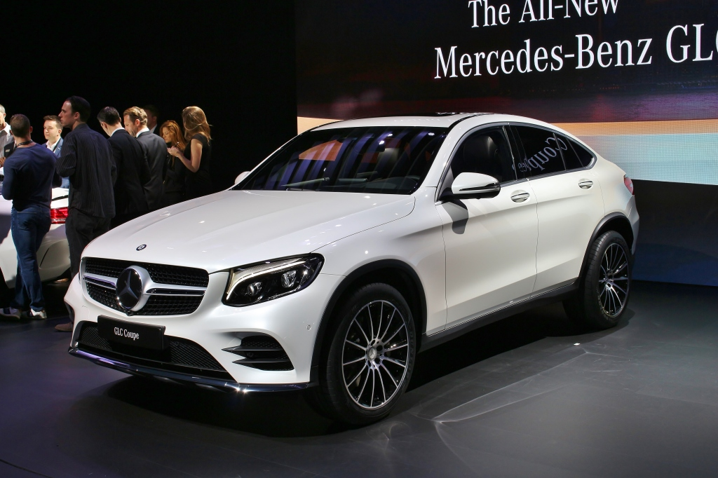 2016 Mercedes GLC Coupe 1