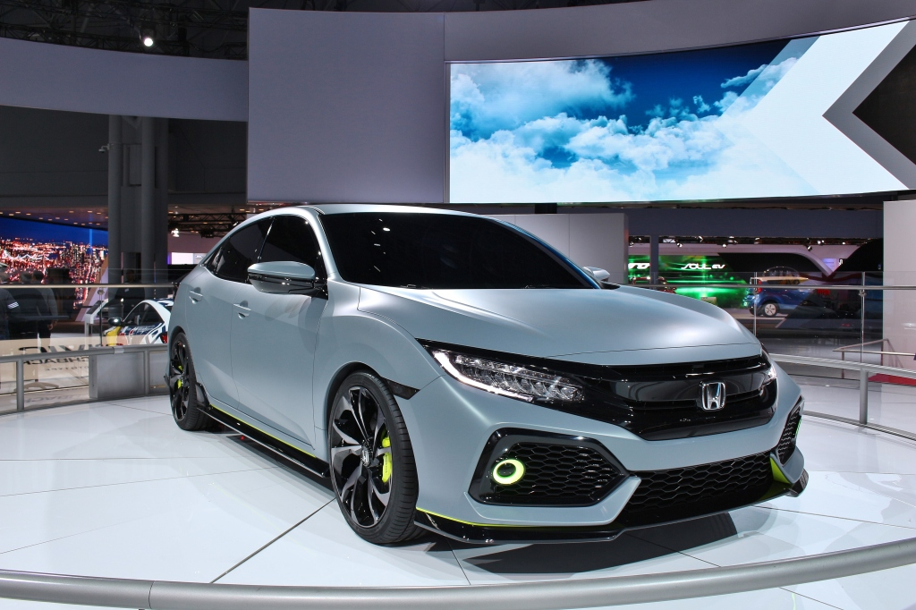 Honda Civic Hatchback Concept 2