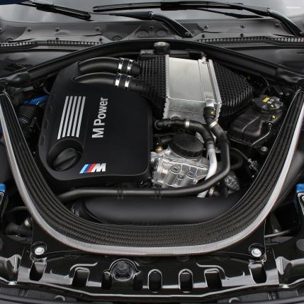 2016 BMW M3 Engine