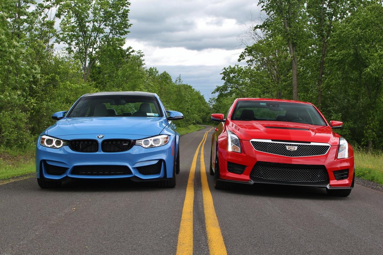 BMW M3 vs Cadillac ATS-V 1