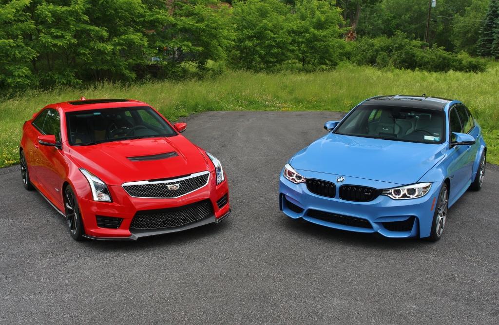 BMW M3 vs Cadillac ATS-V 3