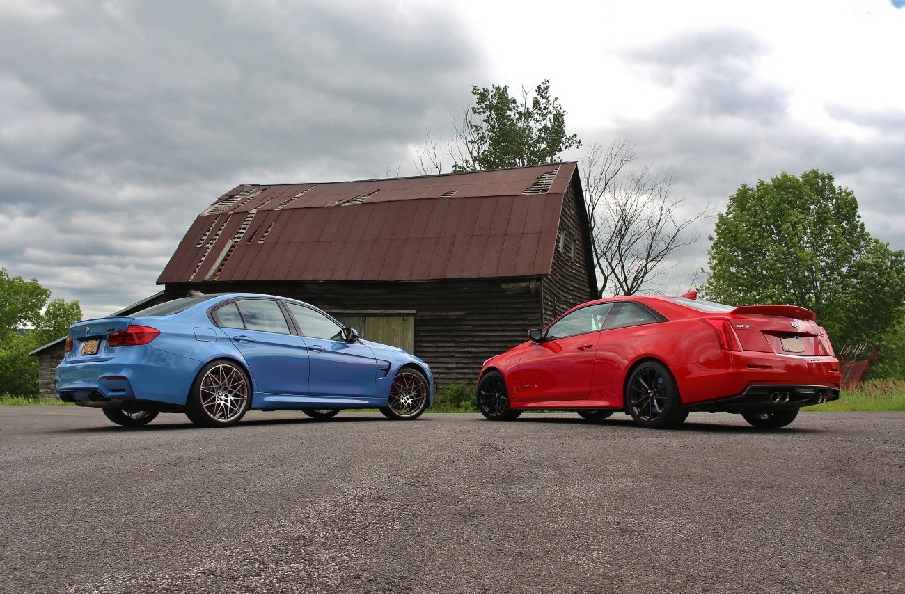 BMW M3 vs Cadillac ATS-V 5