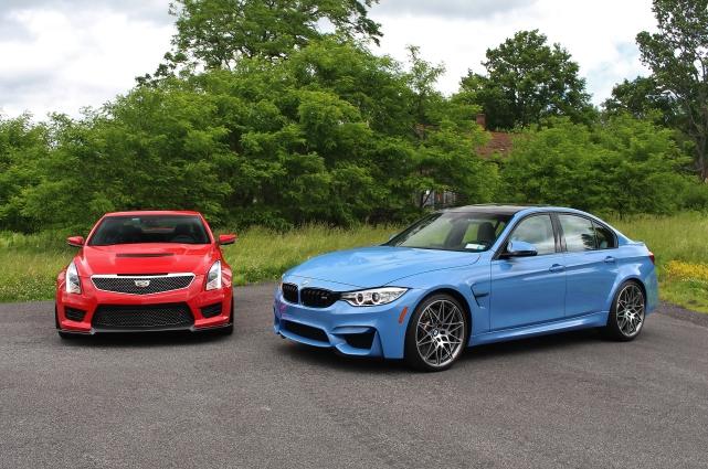 BMW M3 vs Cadillac ATS-V 6