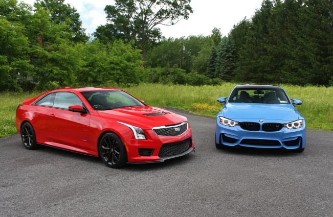 BMW M3 vs Cadillac ATS-V 7