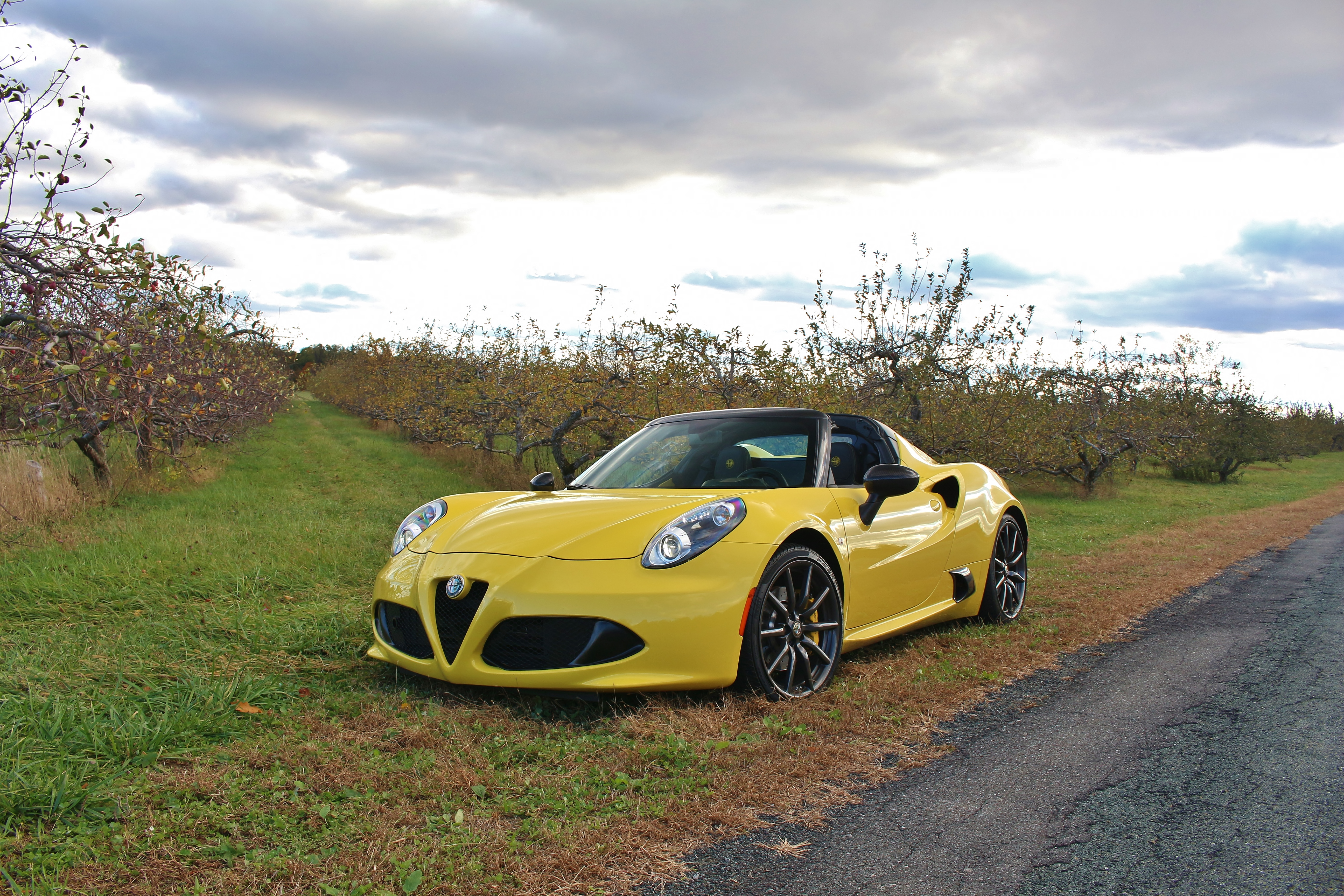 A Tale Of Two Cars 2016 Alfa Romeo 4c Spider Limited Slip Blog