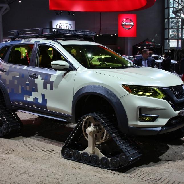 Nissan Juke Sandcrawler