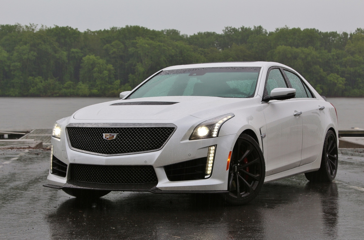 Super Car: 2017 Cadillac CTS-V