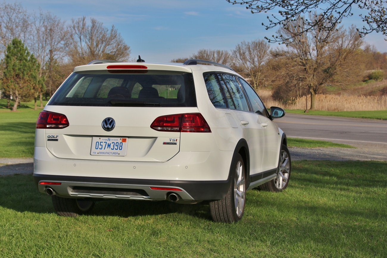 2017 VW Golf Alltrack 6