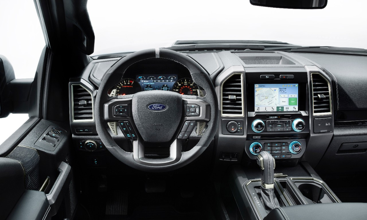 2017 Ford Raptor Interior Options
