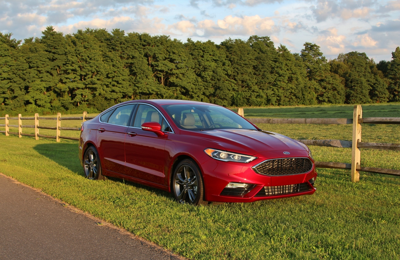 2017 Ford Fusion Sport 2