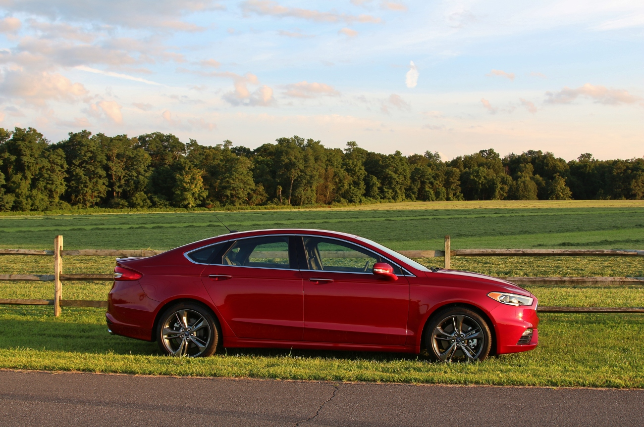 2017 Ford Fusion Sport 4