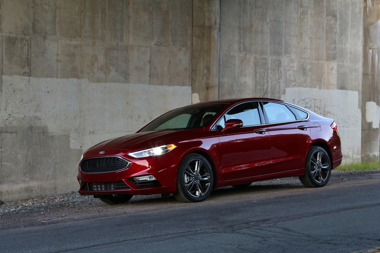 2017 Ford Fusion Sport 5