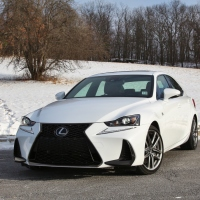 Middle Child: 2017 Lexus IS300 F Sport
